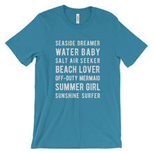 Load image into Gallery viewer, Aqua Beach Lover T-Shirt