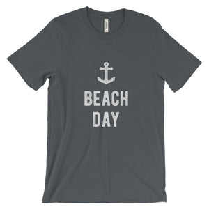 Asphalt Grey Beach Day T-Shirt