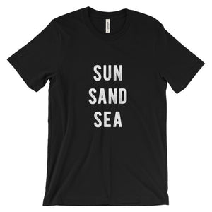 Black Sun Sand Sea T-Shirt