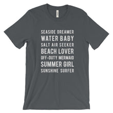 Load image into Gallery viewer, Asphalt Beach Lover T-Shirt