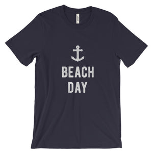 Navy Blue Beach Day T-Shirt