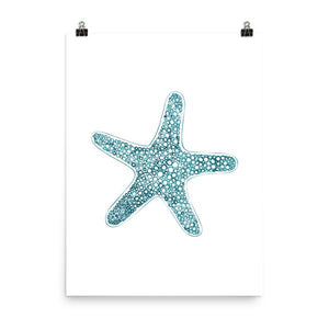 Sea Star Art Print