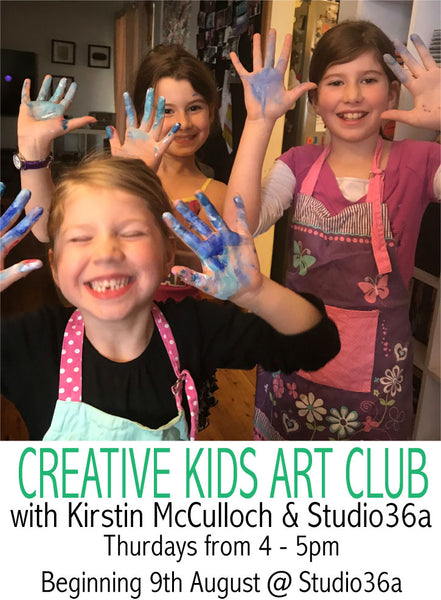 CREATIVE KIDS ART CLASSES @ studio36a TERM 4 CLASSES