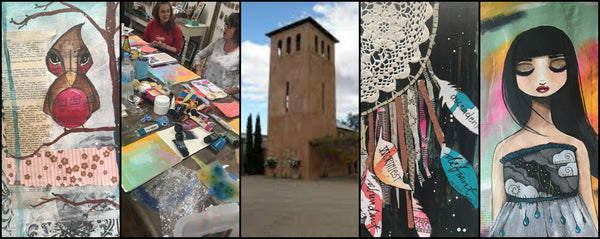 Mixed Media Workshop at the Tower Venue Cowra