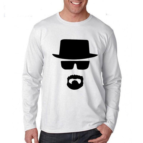 Heisenberg Long Sleeve T Shirt - Gamer Gear Store - 1