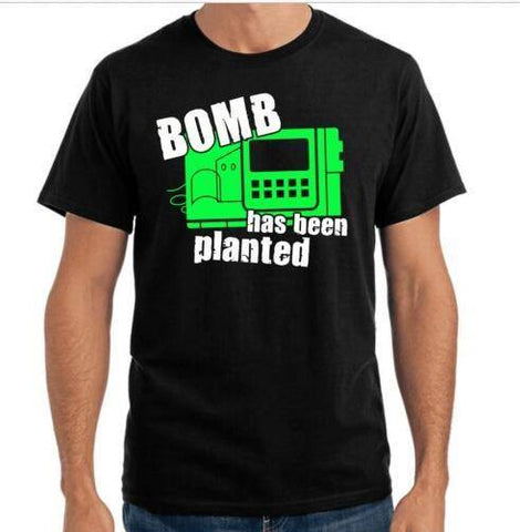 Bomb CS T Shirt - Gamer Gear Store