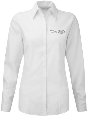 Barretts Jaguar Land Rover Ladies Shirt - Long Sleeve
