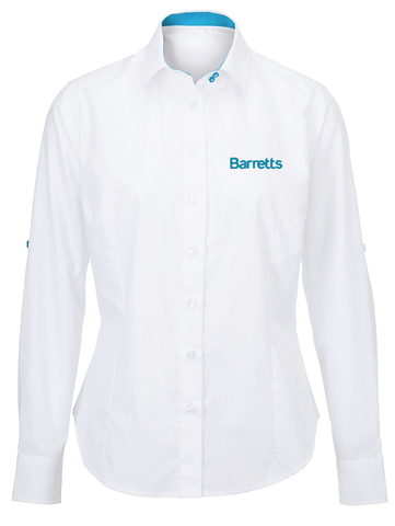Barretts Roll-Up Sleeve Shirt (Ladies Fit)