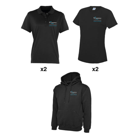 Canterbury College Sport & Fitness Female Uniform Bundle