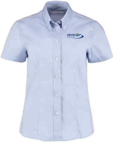 Develop Training Oxford SS Blouse