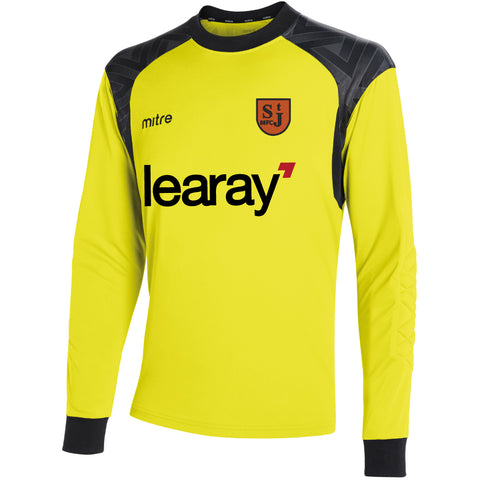 SJY88FC MITRE GUARD GK JERSEY - Yellow/Black