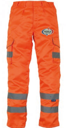 Ardula Group Hi-Viz Cargo Trousers