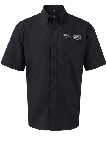Barretts Jaguar Land Rover Shirt - Short Sleeve (Black)