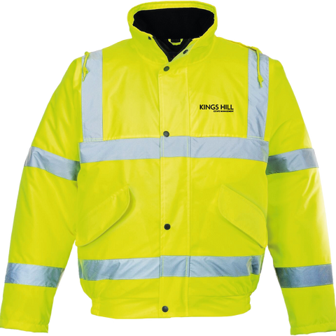 KHEM Hi-Vis Bomber Jacket - Yellow