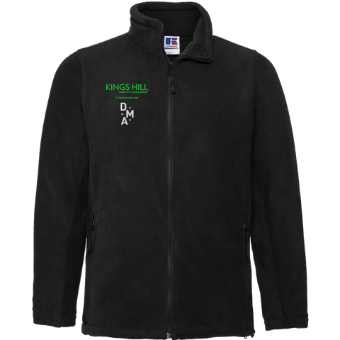 KHPM DMA Full Zip Fleece - Black