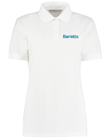 Barretts White Polo (Ladies Fit)