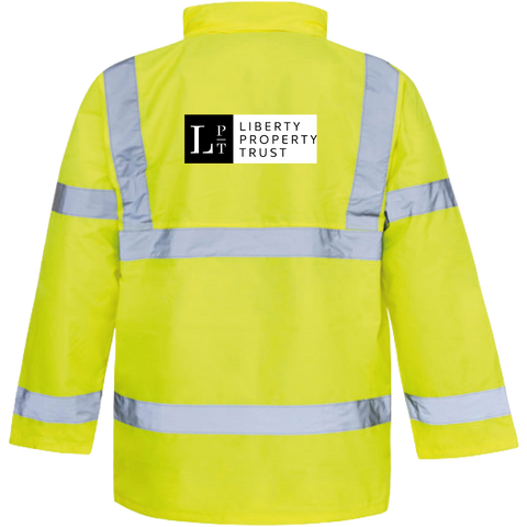 LPT Hi-Vis Motorway Safety Jacket - Saturn Yellow