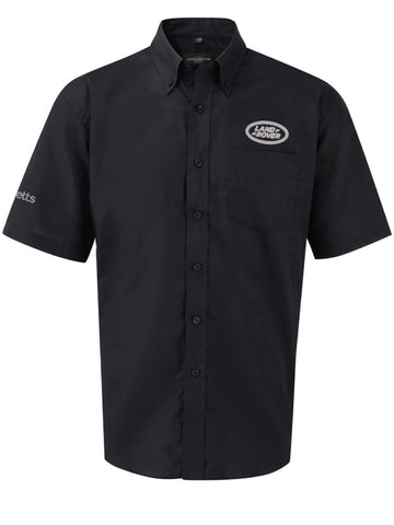 Barretts Land Rover Shirt - Short Sleeve (Black)