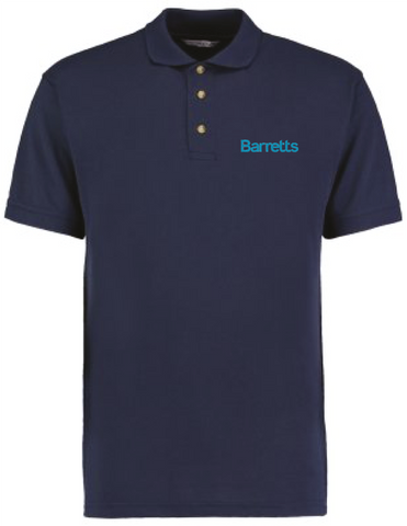 Barretts Navy Polo