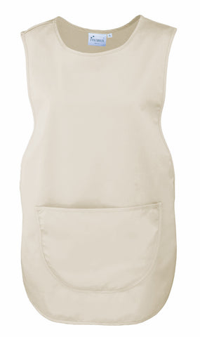 PR171 Premier 'Colours' Pocket Tabard - Natural