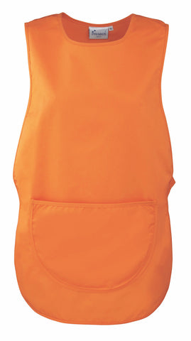 PR171 Premier 'Colours' Pocket Tabard - Orange