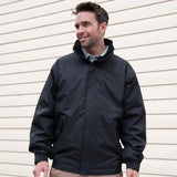 R221M Result Core Channel Jacket - Black