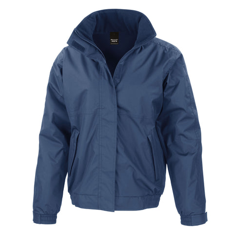 R221M Result Core Channel Jacket - Navy