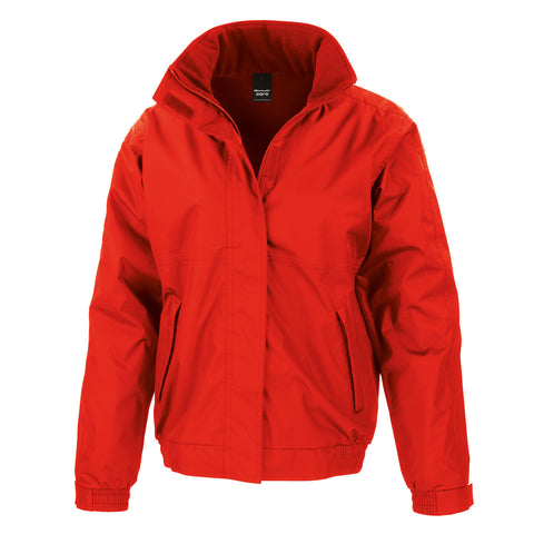 R221M Result Core Channel Jacket - Red