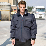 R300X Result Work-Guard Sabre Pilot Jacket - Navy