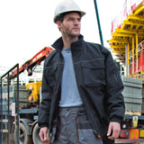 R300X Result Work-Guard Sabre Pilot Jacket - Black