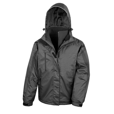 R400M Result 3-in-1 Journey Jacket with Softshell Inner - Black