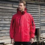 R400M Result 3-in-1 Journey Jacket with Softshell Inner - Red / Black