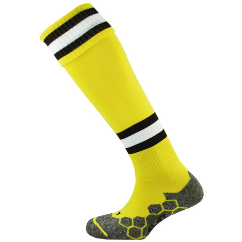 SJY88FC MITRE DIVISION TEC GK SOCK - Yellow/Black/White