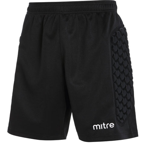 SJY88FC MITRE GUARD PADDED GK SHORTS - Black