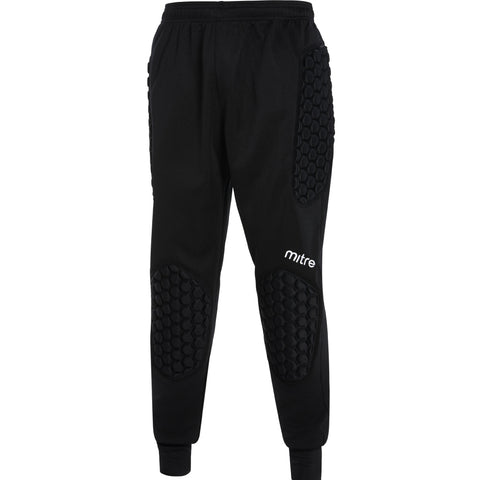 SJY88FC MITRE GUARD PADDED GK TROUSERS - Black
