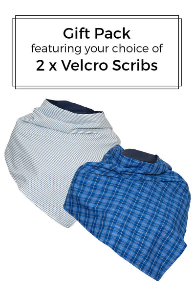 Gift Pack - 2 x Velcro Scribs