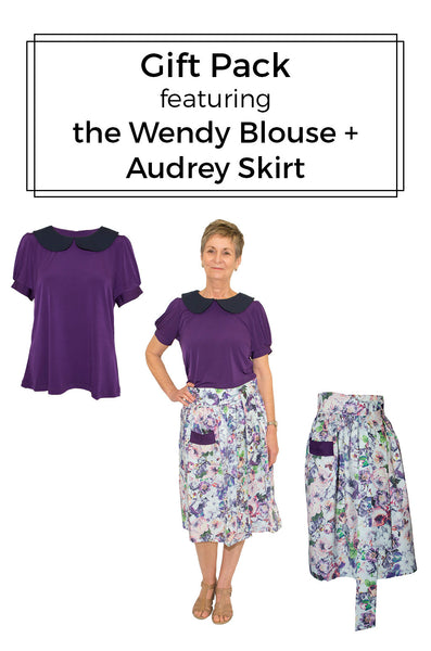 Gift Pack - Wendy Blouse + Audrey Skirt