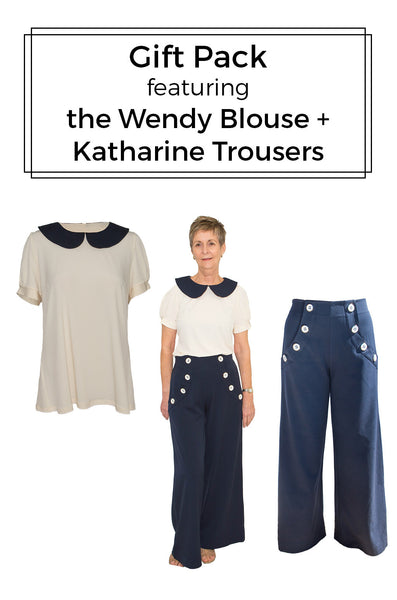 Gift Pack - Wendy Blouse + Katharine Trousers