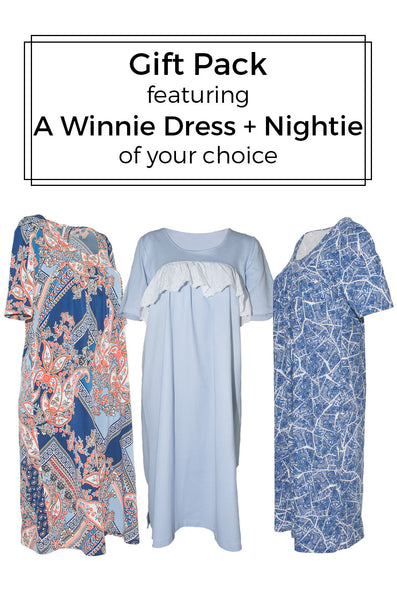 Gift Pack - Winnie Dress + Nightie