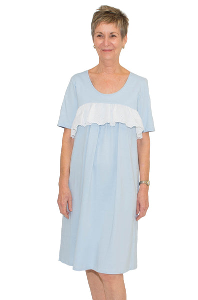 Blue Adaptive Nightie - Timeless by Heather Hill