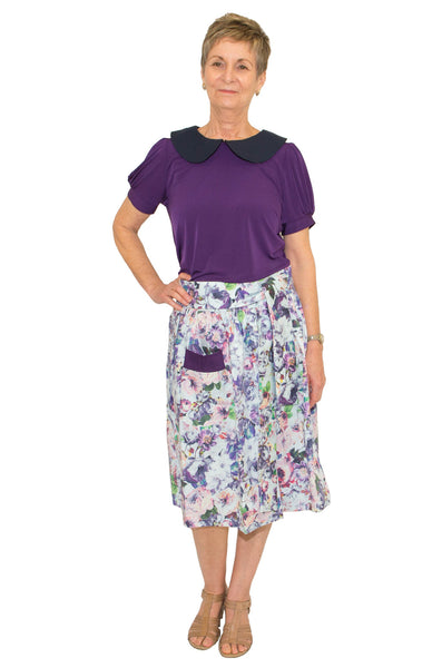 Audrey Skirt - Adaptive Australian Made Clothing - Front