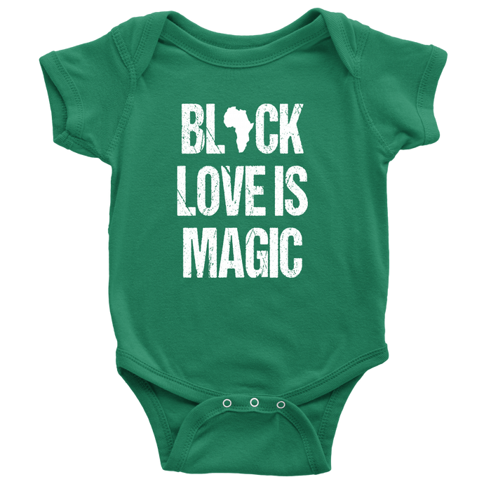 Black Love Is Magic Onsie
