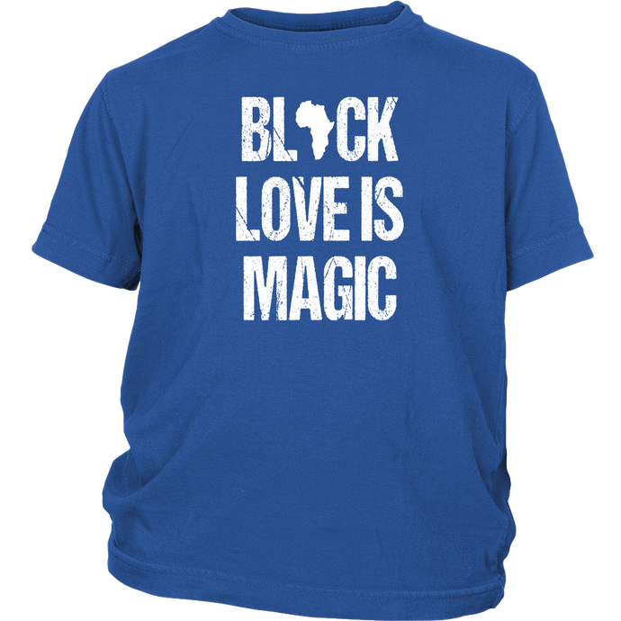 Black Love Is Magic Crewneck Unisex