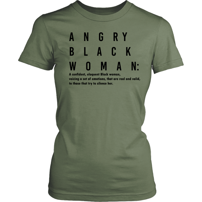 Angry Black Woman (Black)