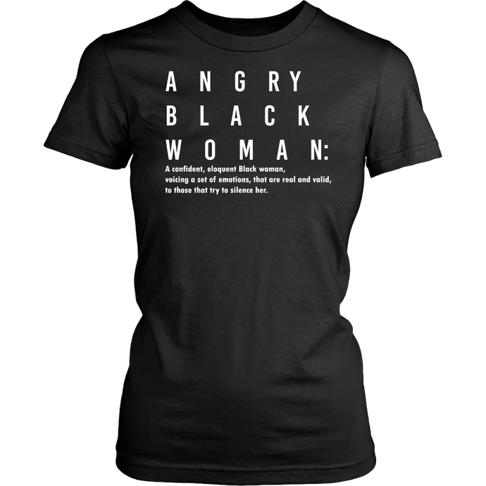 Angry Black Woman (White)