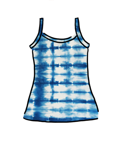 Women's Cami Limited Edition Indigo Dye
