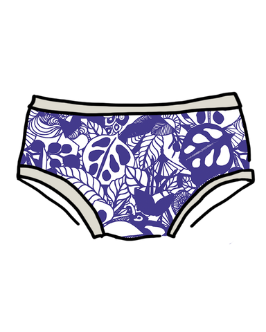 Women's Hipster Bloem In Blue