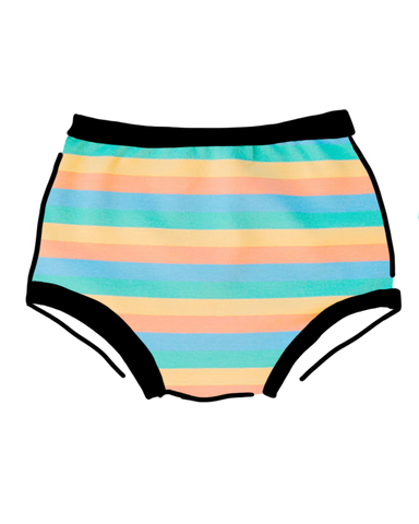 Women's Original Pastel Rainbow Stripe
