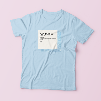 """WHAT IS AESTHETIC?"" SHIRTS"