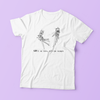 """WE'RE NOT LOVERS, WE'RE JUST STRANGERS"" SHIRT"